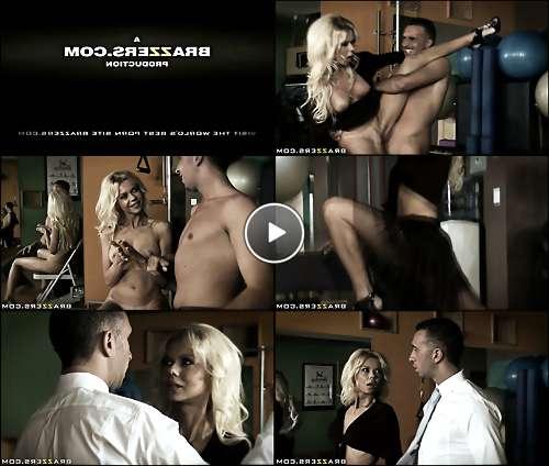 blonde booty dance video